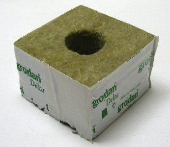 Grodan Steinwolle Kulturblock 10 X 10 X 65 Cm Großes Loch Amazon