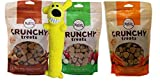 Nutro All Natural Crunchy Training Treats For Dogs 3 Flavor Variety with Toy Bundle: (1) Treats w/Real Peanut Butter, (1) Treats w/Real Carrots, and (1) Treats w/Real Apple, 10 Oz Ea (3 Bags, 1 Toy) Larger Image
