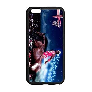 RAROFU Michael Jordan Custom Case for iPhone6 Plus 5.5 (Laser Technology)