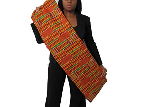 African Kente Print #3- Serengeti Fabric (1 Yard) kente African print fabric cotton 44