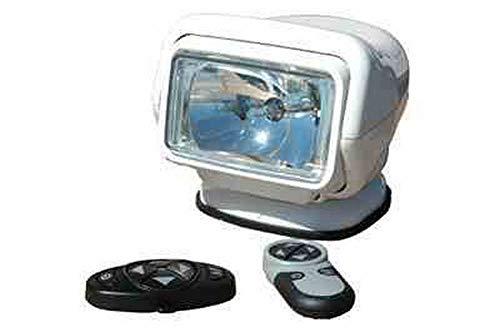 HID Golight Stryker - 35 Watt HID - 3000 Lumen - 2 Wireless Remotes - White - 12 Volt - Spot Beam ()