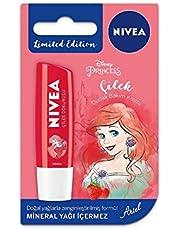 Nivea Lip Care Çilek Disney - Arıel