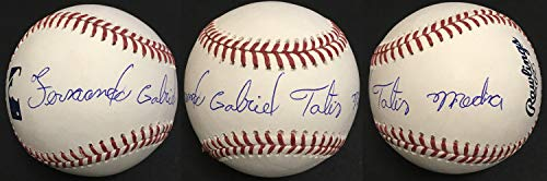 Fernando Tatis Jr. Autographed Signed Full Name MLB Baseball Padres Rookie Autograph - JSA Authentic