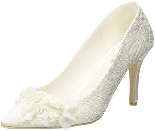 Menbur Damen Lucia Pumps Off White (Off White 04)