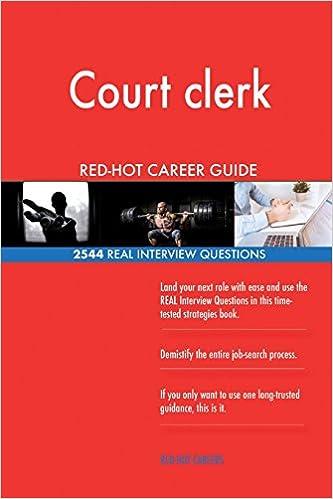 Court clerk RED-HOT Career Guide