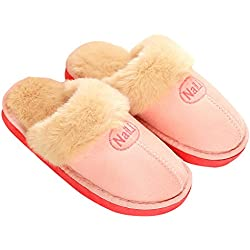 Respeedime Women's Indoor Shoes Classic House Slipper Winter Cozy