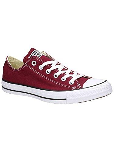 Converse Chuck Taylor All Season Saison Leinen Low Top Sneaker Rote Kirsche