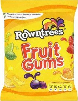 Nestle Rowntree Fruit Gums Gram