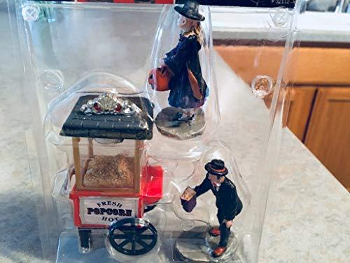 Lemax 32112 Popcorn Treats Spooky Town Figure Set of 3 Halloween Decor Figurine