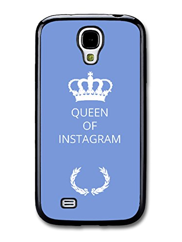 New Funny Queen of Gift Idea on Light Blue Design coque pour Samsung Galaxy S4