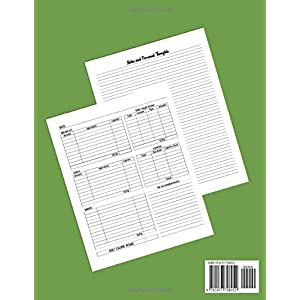 A Better ME! Food & Fitness Journal: A simple blank form journal that allows you to keep track of your daily exercise routine, daily calorie intake, … intake for success with a healthy lifestyle. 41ztT1tJHRL