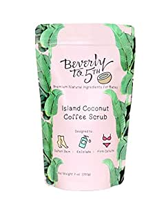 Beverly To 5th Coconut Coffee Body Scrub with Organic Coffee