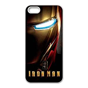The Iron Man Iphone 4 4S Cell Phone Case White 218y-044122