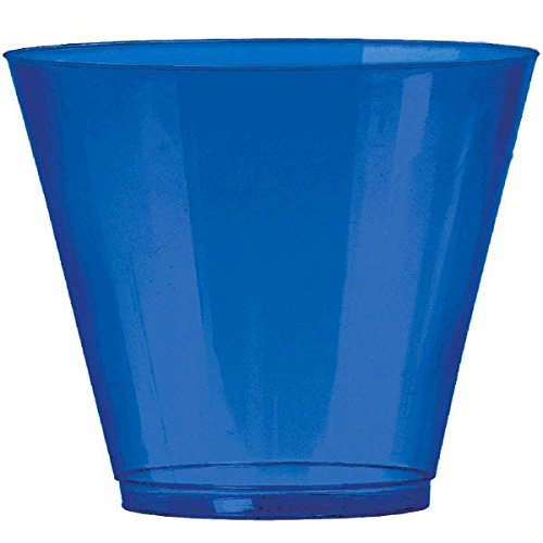 Royal Blue, Big Party Pack, Plastic Cups 9 oz, 72 Per Pack
