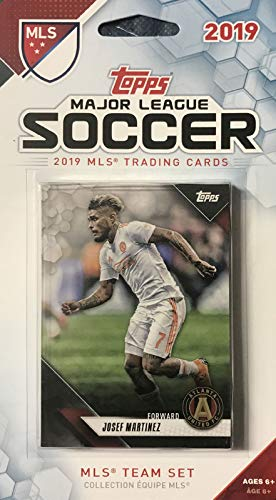 Atlanta United 2019 Topps MLS Soccer Factory Sealed 11 Card Team Set with Hector Villalba and Josef Martinez Plus