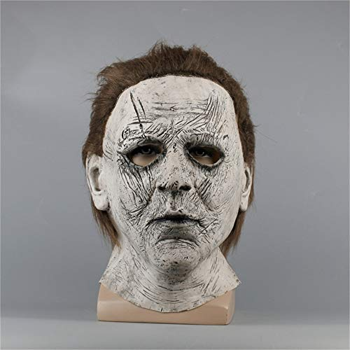 FUTUAN Michael Myers 2018 Movie Deluxe Overhead Mask Halloween Mask -