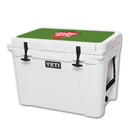 - MightySkins Skin for YETI 50 qt Cooler Lid – Strawberry Fields Forever | Protective, Durable, and Unique Vinyl Decal wrap Cover | Easy to Apply, Remove, and Change Styles | Made in The USA
