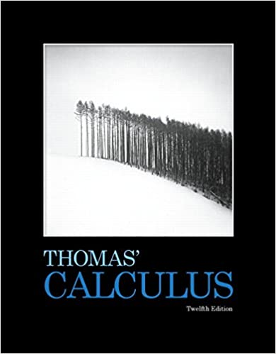 Calculus solution manual 12th edition