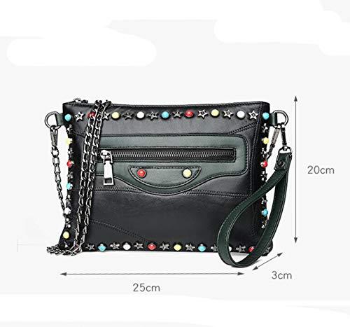 Shoulder Bag Hongge Main À Célibataire Fashion Femme Cuir Sac En Chaîne qvR6F