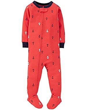 Carter's Baby Boys' Print Footie (Baby) - Anchors