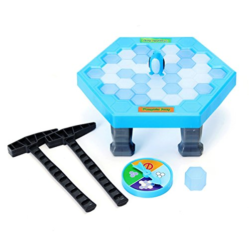 FUNTOK Puzzle Table Games Balance Ice Cubes Save Penguin