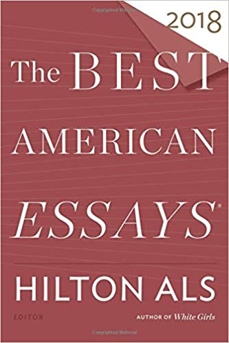 The best american essays 2018 the best american series hilton