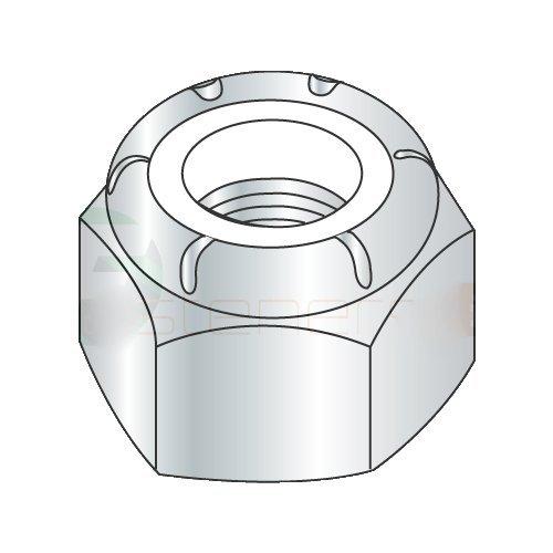 3-48 Light Hex Standard/NM Nylon Insert Locknuts/Steel/Zinc (Carton: 2,000 pcs)