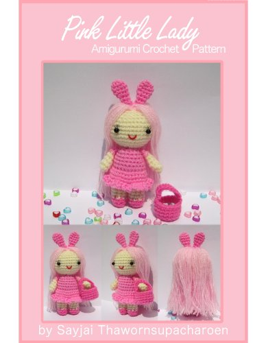 Kids Crochet Pattern - Pink Little Lady Amigurumi Crochet Pattern