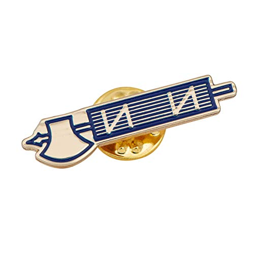 Sigma Phi Fraternity - Desert Cactus Phi Beta Sigma Fraternity Lapel Pin Enamel Greek Formal Wear Blazer Jacket Sigma (Axe Pin)