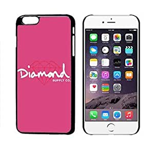 Diamond Supply 19 Pink With Red Diamond iphone 6 + Plus Case