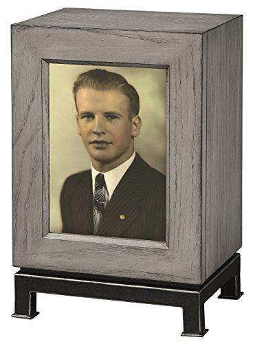 Howard Miller 800-202 Metro Mantel Funeral Cremation Urn-at Peace Memorials