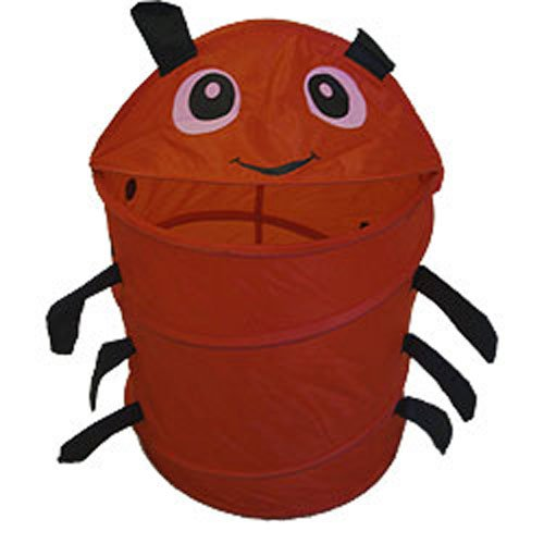 - Red Ladybug Animal Insect Nylon Hamper-Storage Basket