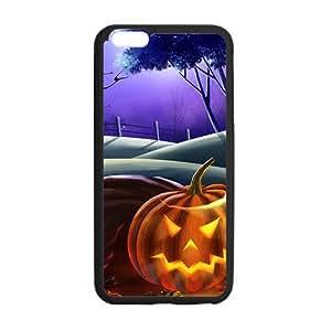 "Happy Halloween shiny pumpkin Case for iPhone 6 plus 5.5"""
