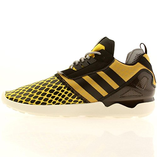 Adidas Zx 8000 Boost (multi / Neblina Pizarra / Negro / tomate) -6,0 Yellow / Black-Grey