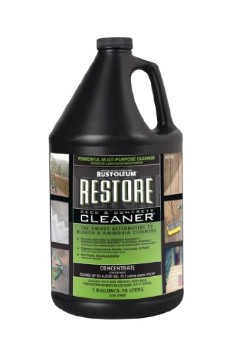 Rust oleum 51752 restore deck and concrete cleaner 1 for Revive deck cleaner