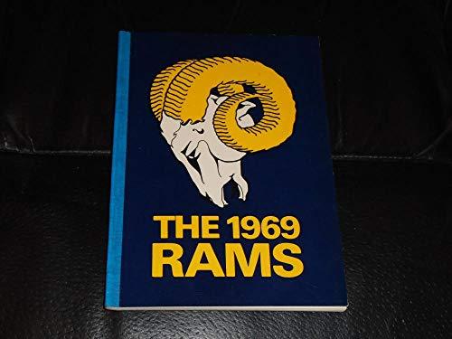 1969 LOS ANGELES RAMS NFL FOOTBALL MEDIA GUIDE NEAR MINT