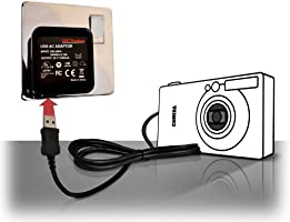 Cámara Digital NIKON COOLPIX S6300//S800 USB Cargador De Batería EH-68P//EH-69P