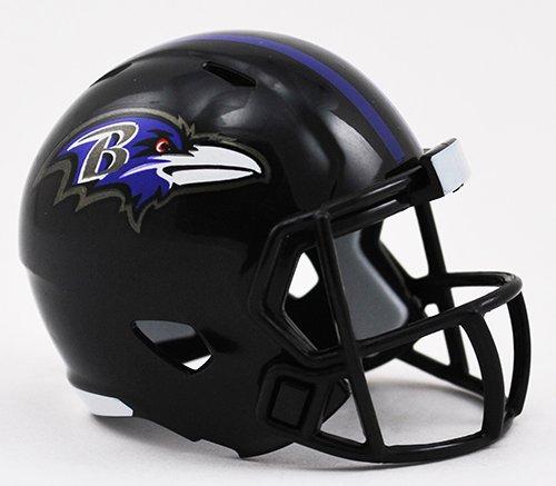 BALTIMORE RAVENS NFL Cupcake / Cake Topper Mini Football Helmet