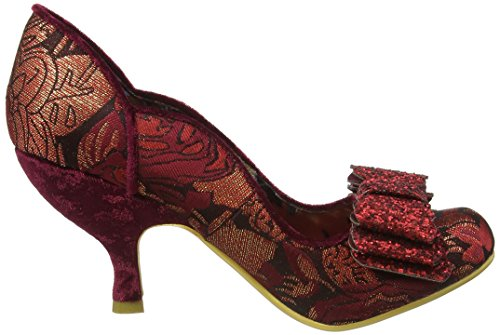 Irregular ChoiceLadies First - Scarpe con Tacco Donna Red (Bordo)