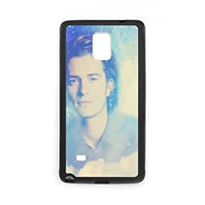 Orlando Bloom Samsung Galaxy Note 4 Cell Phone Case Black as a gift A4555430