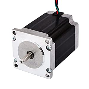 STEPPERONLINE Stepper Motor Nema 23 Bipolar 3.0A 269oz.in/1.9Nm CNC Mill Lathe Router by STEPPERONLINE