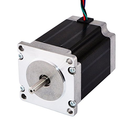 - STEPPERONLINE Nema 23 Stepper Motor 3.0A 269oz.in/1.9Nm 76mm Length Step motor for CNC Mill Lathe Router