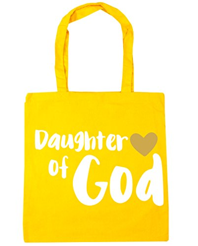 Yellow God 10 Tote Beach Bag of 42cm Gym Daughter litres x38cm HippoWarehouse Shopping ZBw7TqxvE
