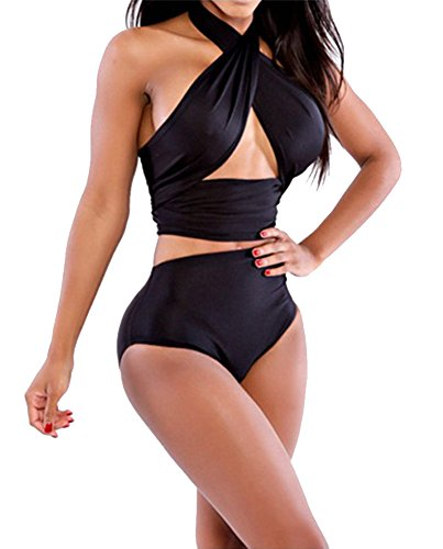 Womens Swimsuit Bandeau Bikini Swimwear