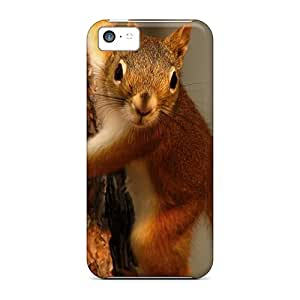 New Style Case Cover GUaWKhf4832CpWGR Squirrels Eichhornchen Wds Compatible With Iphone 5c Protection Case