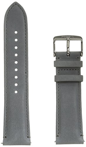 Fossil S221346 22mm Genuine Leather Watch - Leather Fossil Watch Band