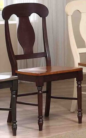 18 in. Napoleon Back Side Chair - Set of 2 ()