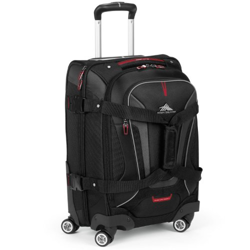 High Sierra AT7 Spinner Luggage, Black, 22-Inch