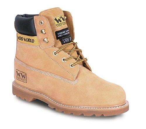 Wood World 4TP Chaussures de Sécurité Hommes