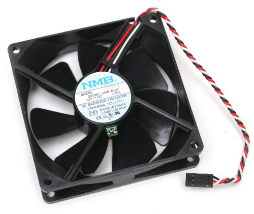 Genuine Dell Replacement CPU Case Cooling Fan For The Following Dell Systems: Dimension 4300, 4400, 4550, 8200, 8250, 8300 Optiplex Towers GX60, GX240, GX260, GX270 PWS 360, 350, 340, and PowerEdge 400SC, Replaces All of The Following Dell Part Numbers: 4W022, 9M060, W0101, 929FF, 6985R, Fits The Following Dell Cooling Assemblies: 2X585, P0676, 7Y292, 0P020, 2X002